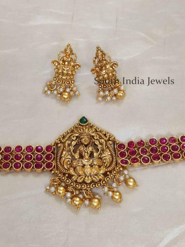 Kemp Lakshmi Design Choker