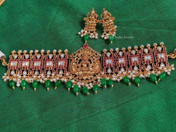 Lakshmi Design Kundan Kemp Choker