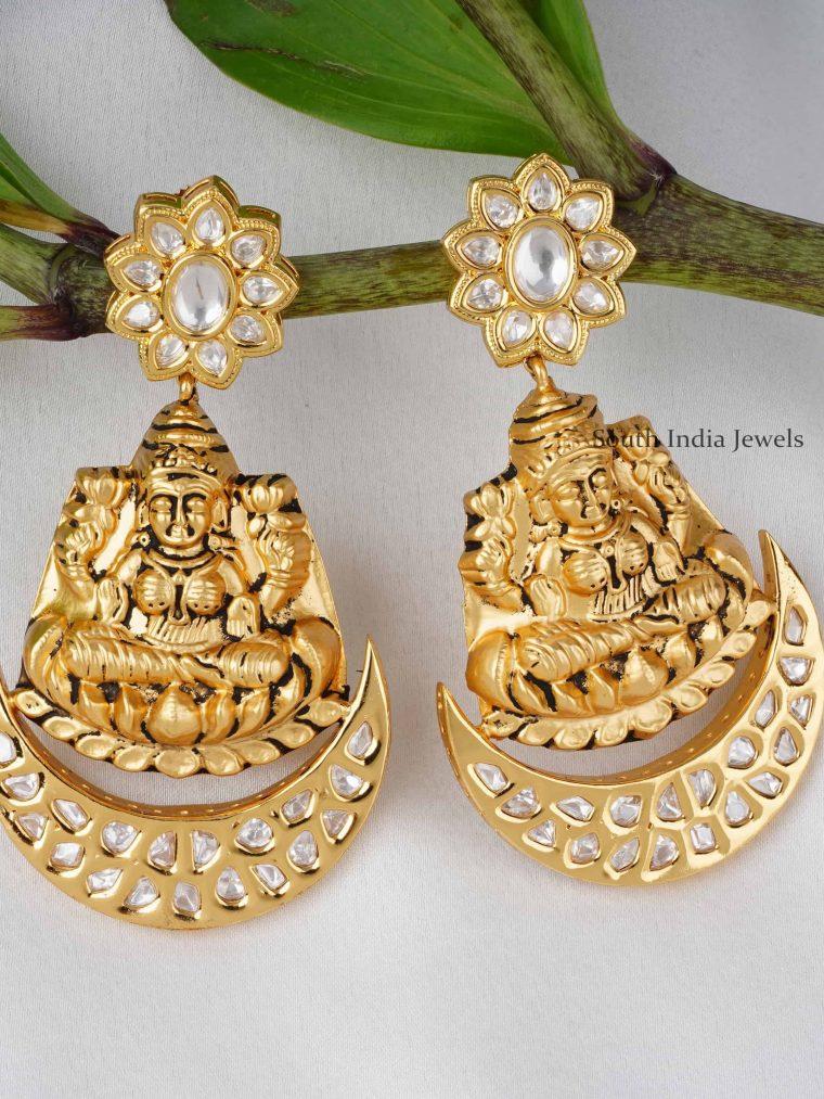 Lakshmi Design Kundan Long Earrings