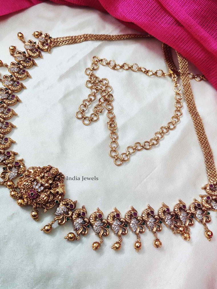 Lakshmi Peacock Design Hip Belt