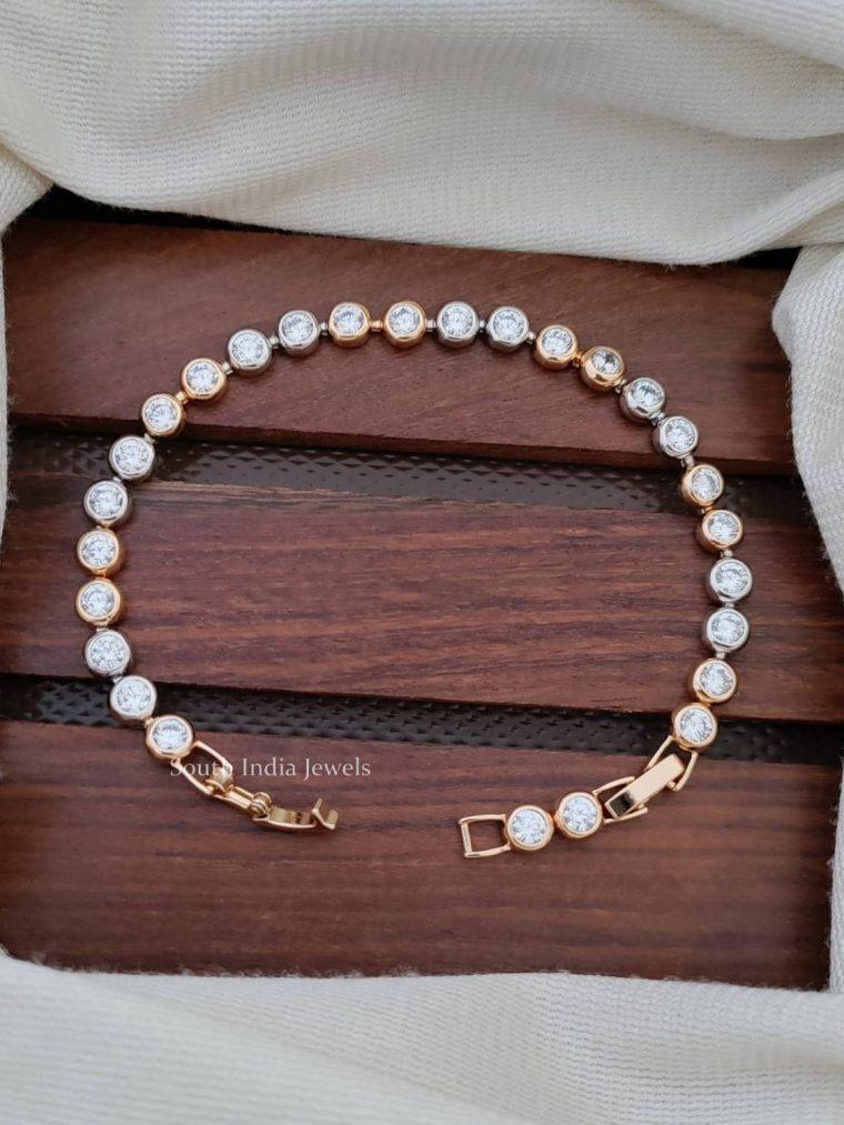 Royal CZ Stone Bracelet
