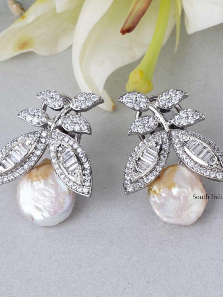 Royal Swarovski Pearls Earrings (2)