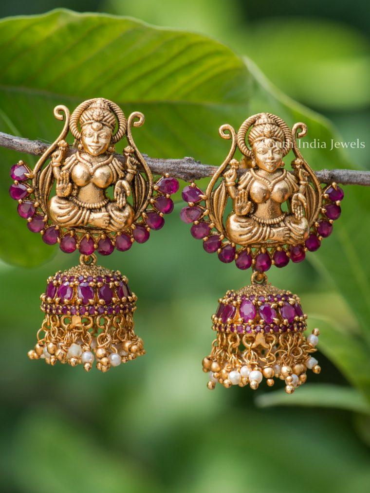 Ruby Devi Design Jhumkas