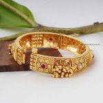 Simple Design Gold Design Kada Bangle (2)