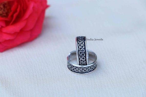 Simple Design Sterling Silver Toe Rings