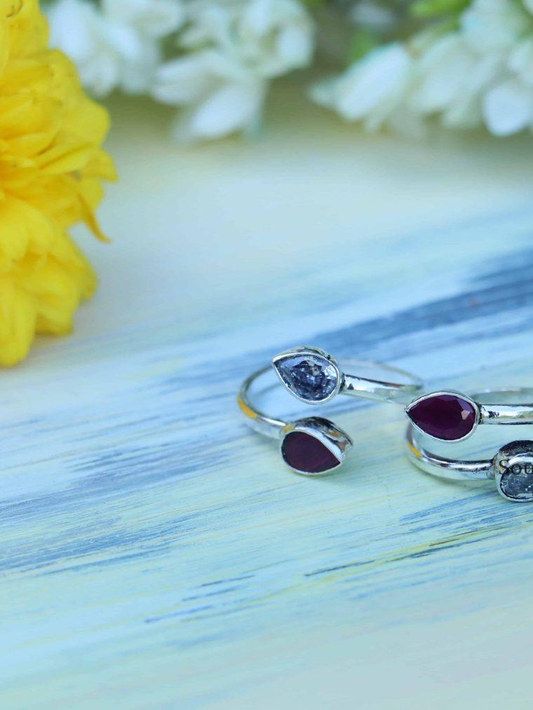 Simple Sterling Silver Toe Rings