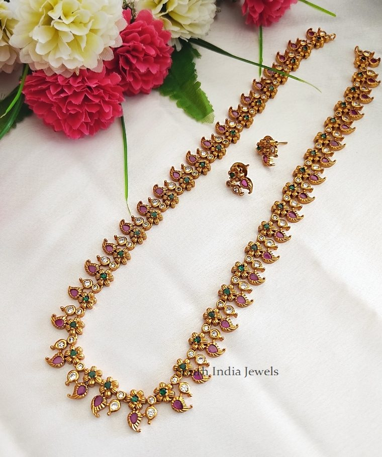 Simple and Trendy Long Necklace.