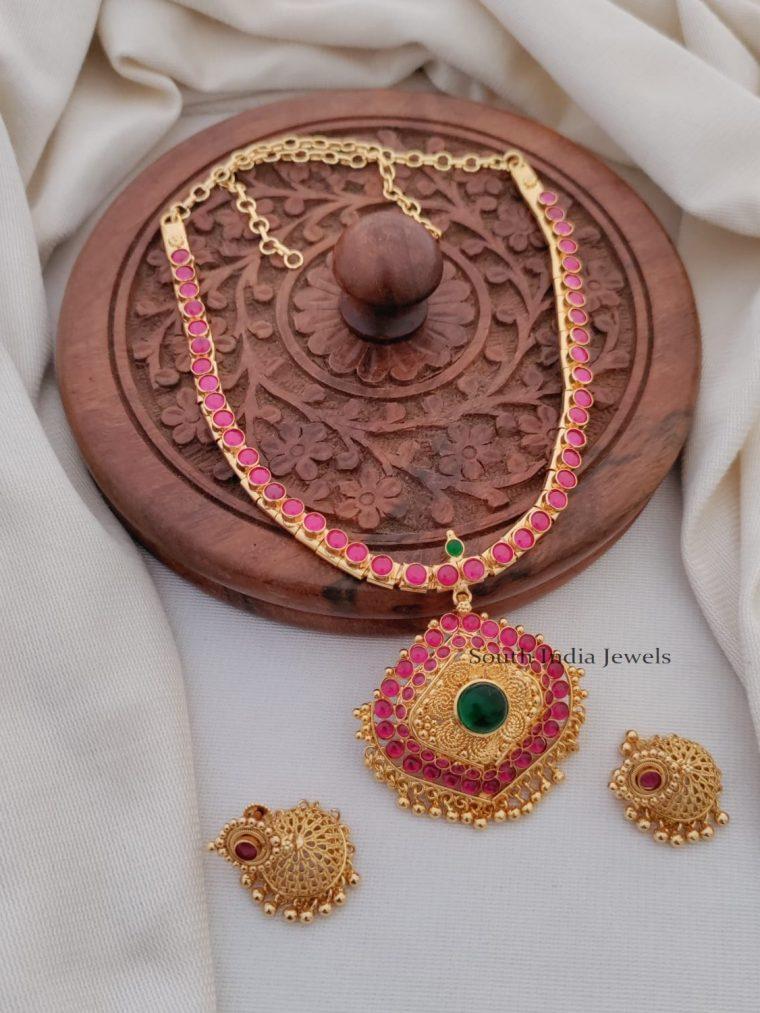 Southern Kemp Stone Necklace Set