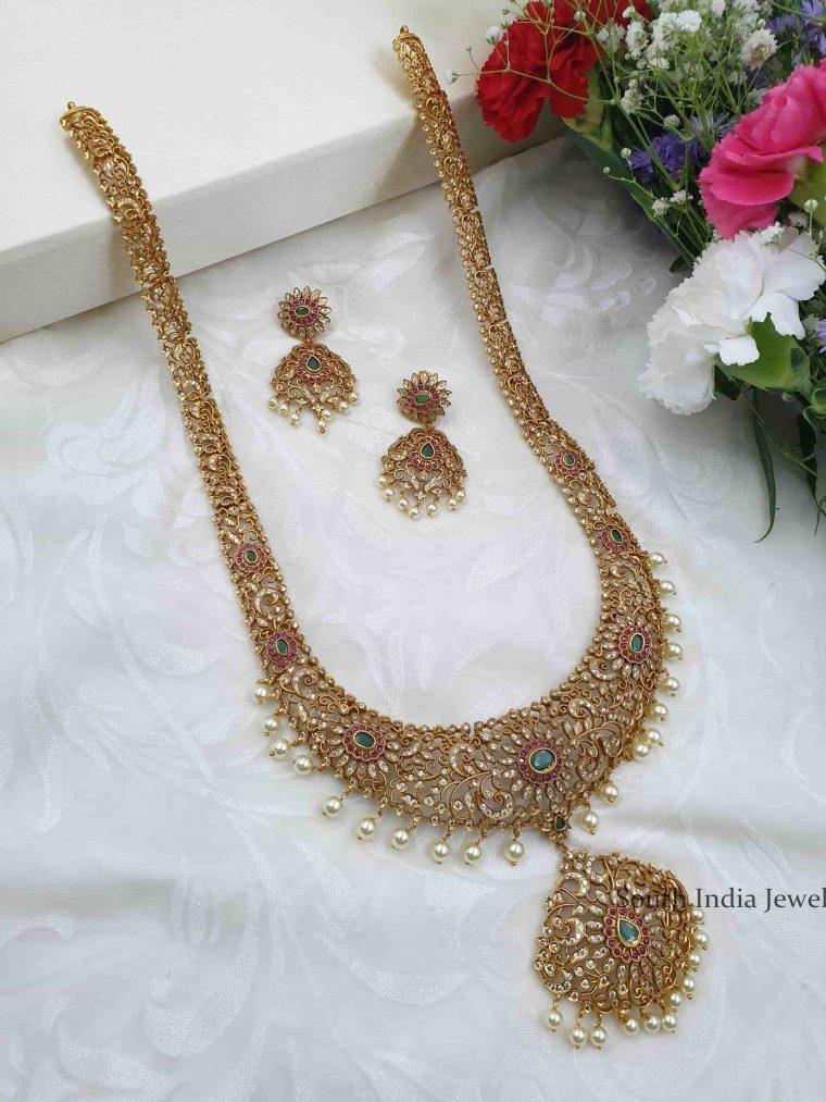 Stunning Bridal Rani Haram