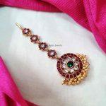 Stunning Chakra Design Maang Tikka