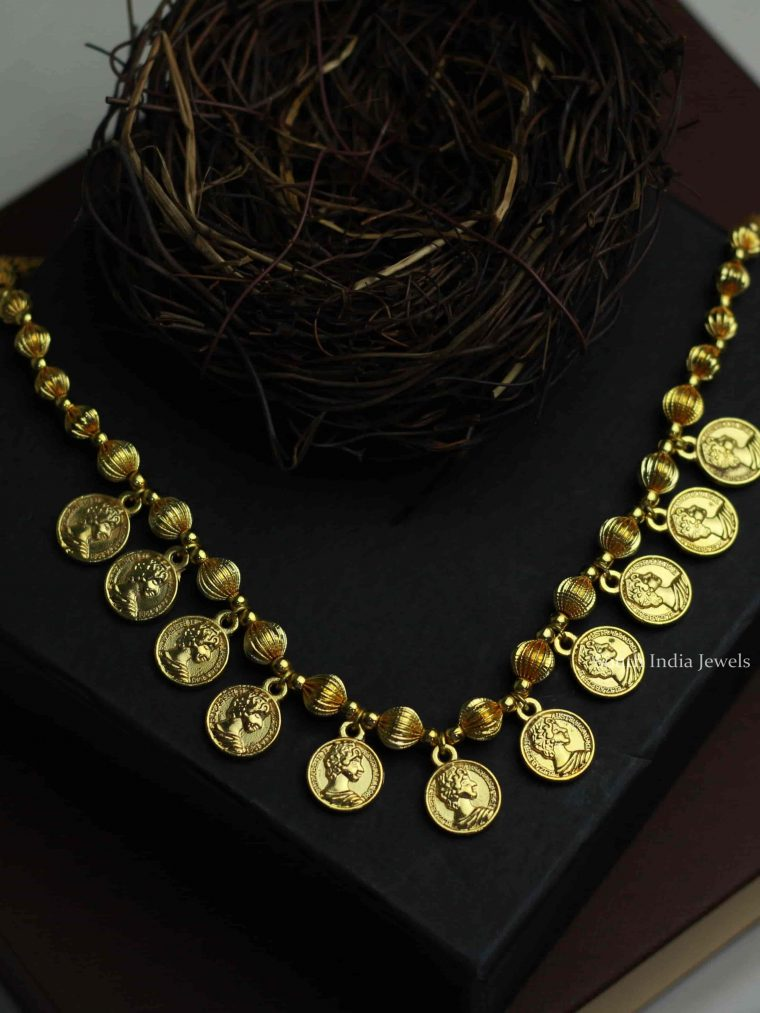 Stunning Western Style Coin Necklace