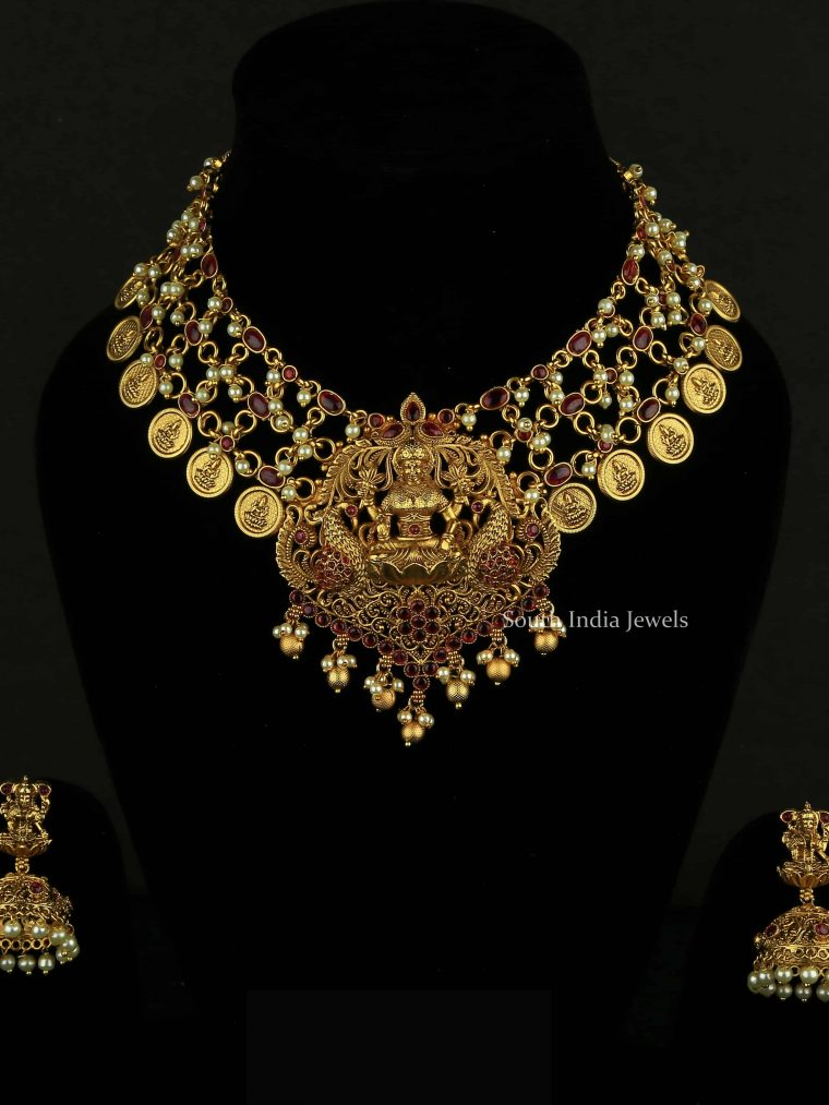 Temple Design Layered Necklace