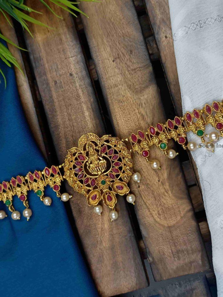 Traditional Gold Finish Hip Belt