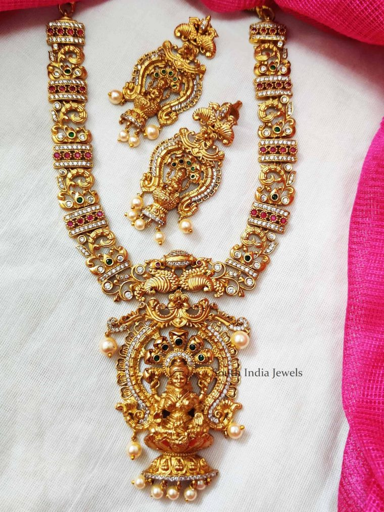 Traditional Temple Design Necklace