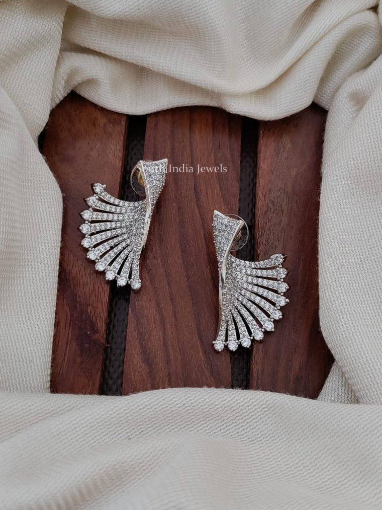 Trendy CZ Stone Earrings