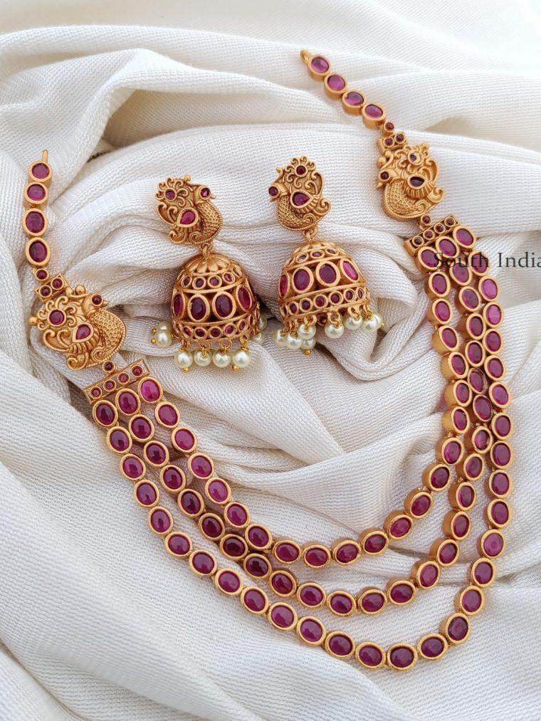 Trendy Three Layer Kemp Necklace