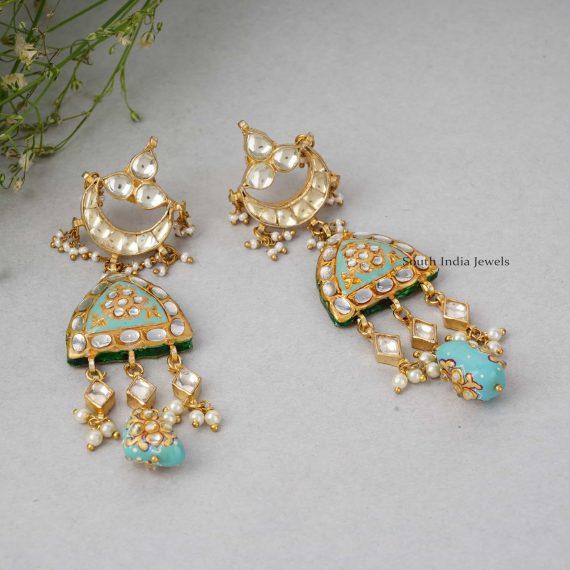 Turquoise Kundan Wedding Necklace (2)