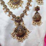 Antique Lakshmi Pendant Combo Set