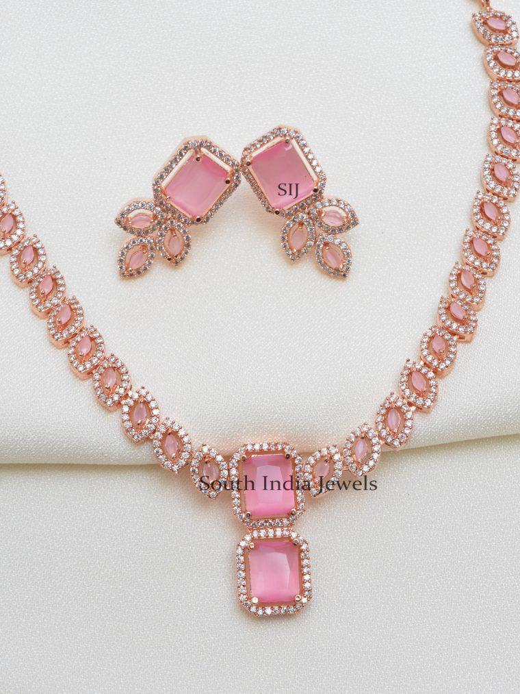 Amazing Rose Gold Necklace