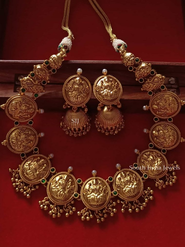 Antique Laxmi Design Nagas Choker