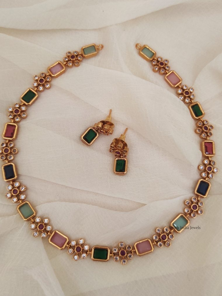 Antique Navaratna Necklace