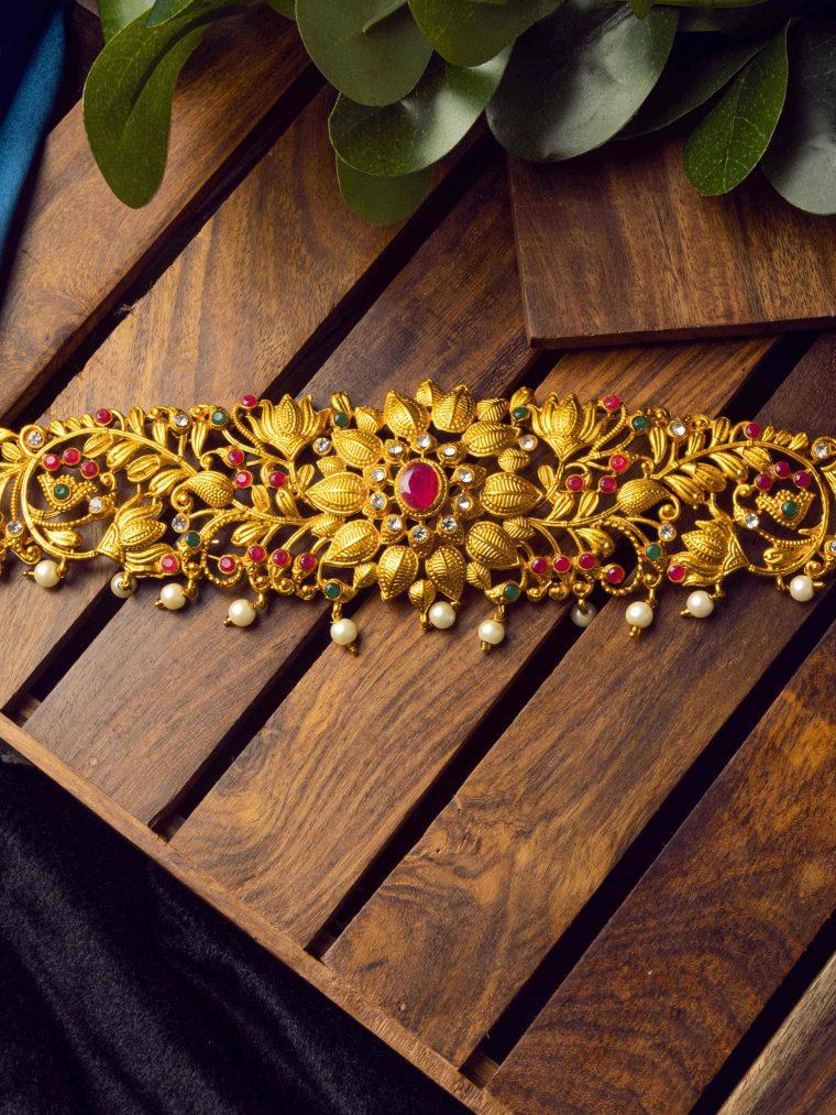 Beautiful Floral Design Hip Belt