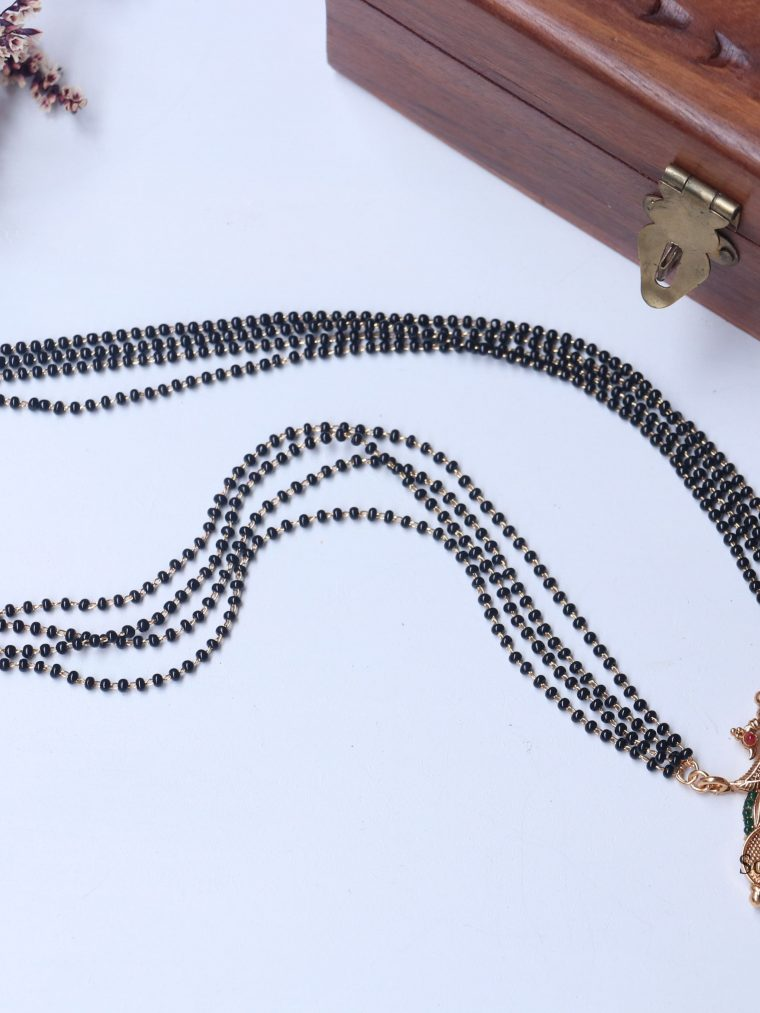 Beautiful Garuda Design Mangalsutra (2
