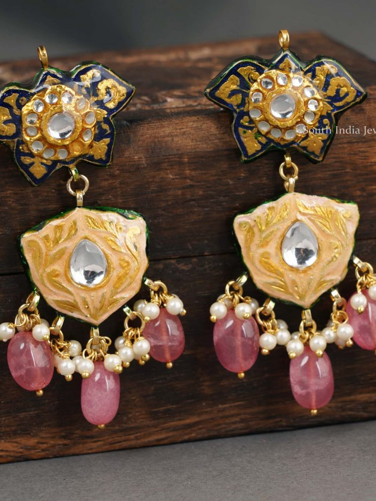 Beautiful Tourmaline Drop Earrings