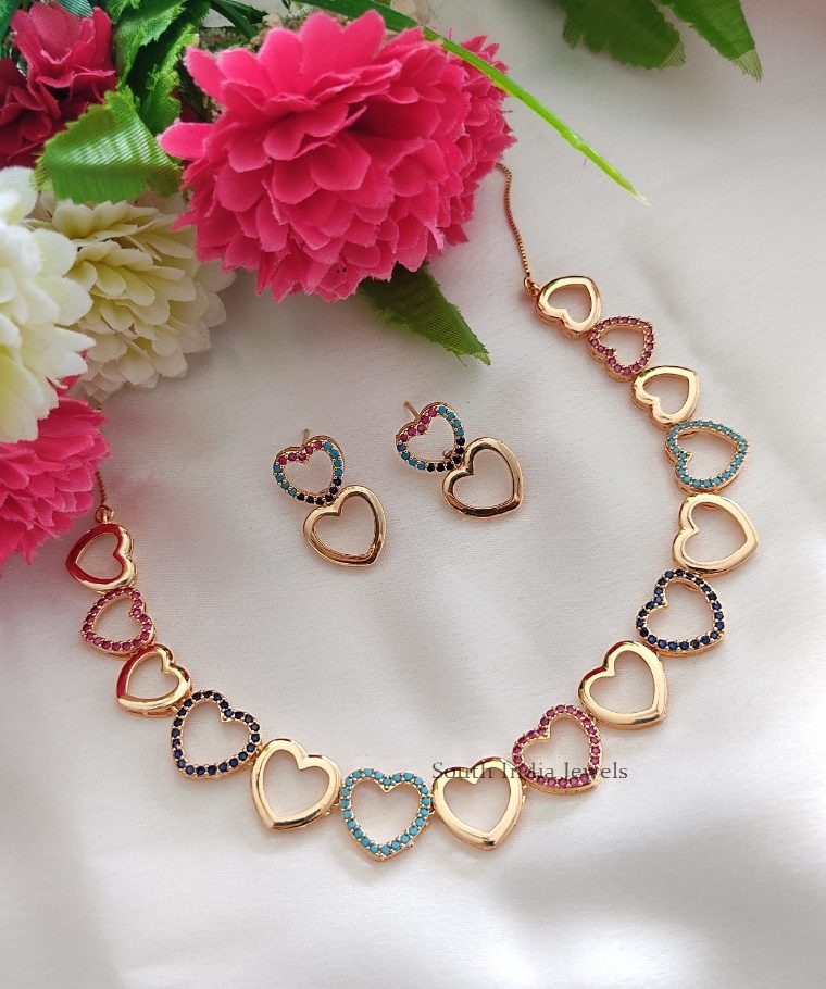 Cute Heart Shaped Necklace
