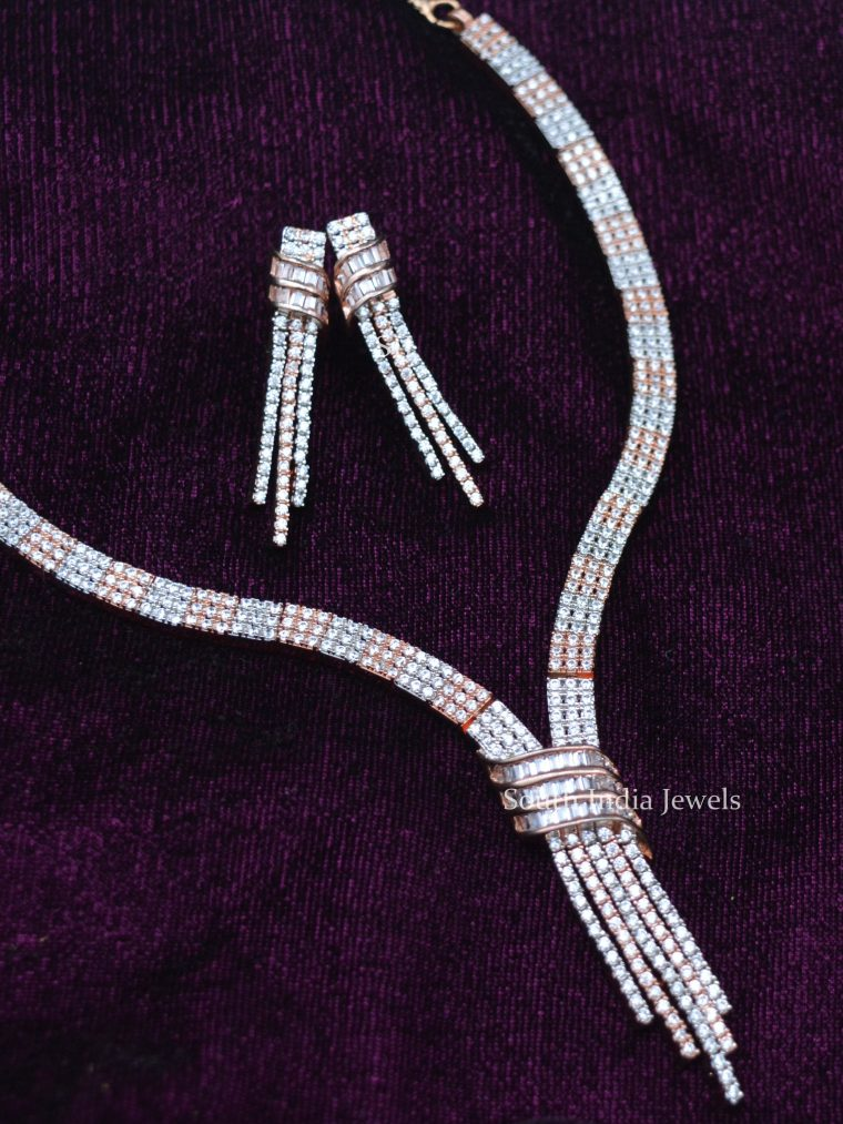 Dual Finish Gorgeous Necklace