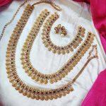 Elegant Design Lakshmi Coin Combo Set