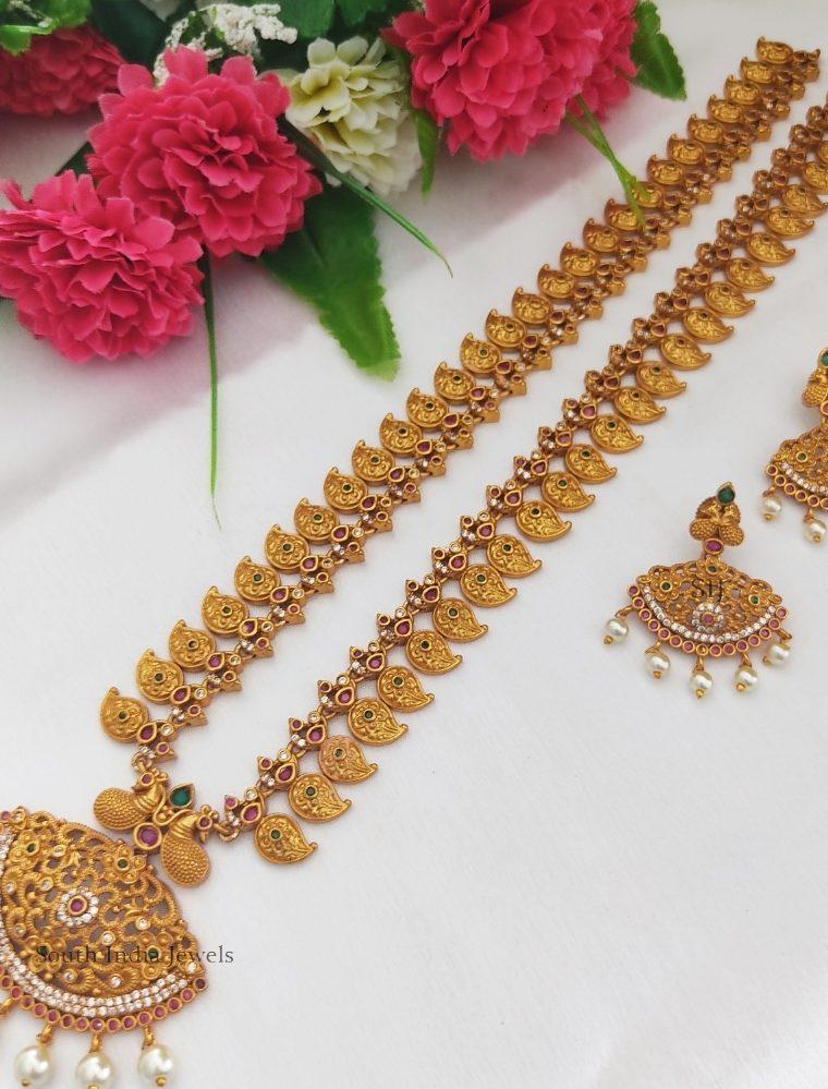Exquisite Mango Designer Haram