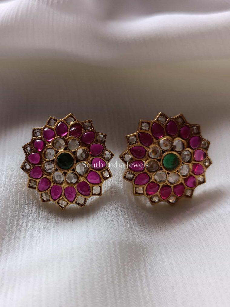 Floral Kemp Design Earrings