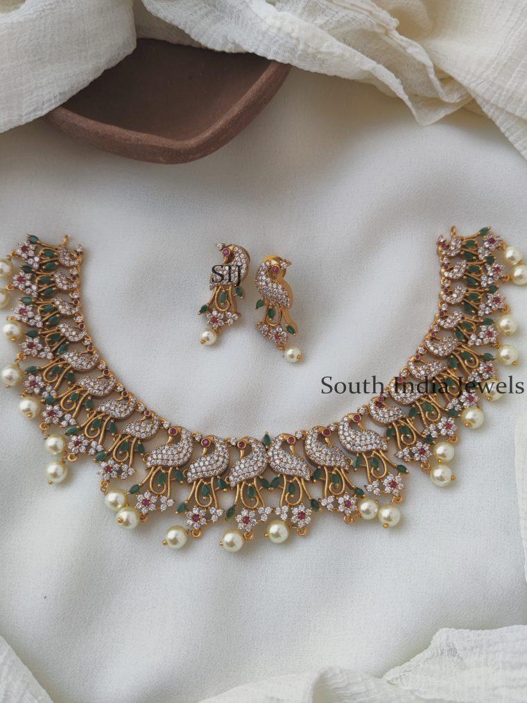 Gorgeous Diamond Alike Necklace