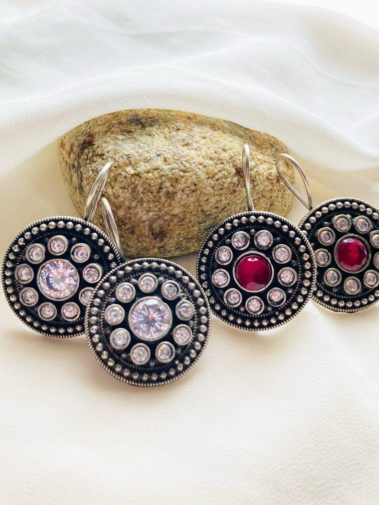 Gorgeous Geometric Hook Earrings