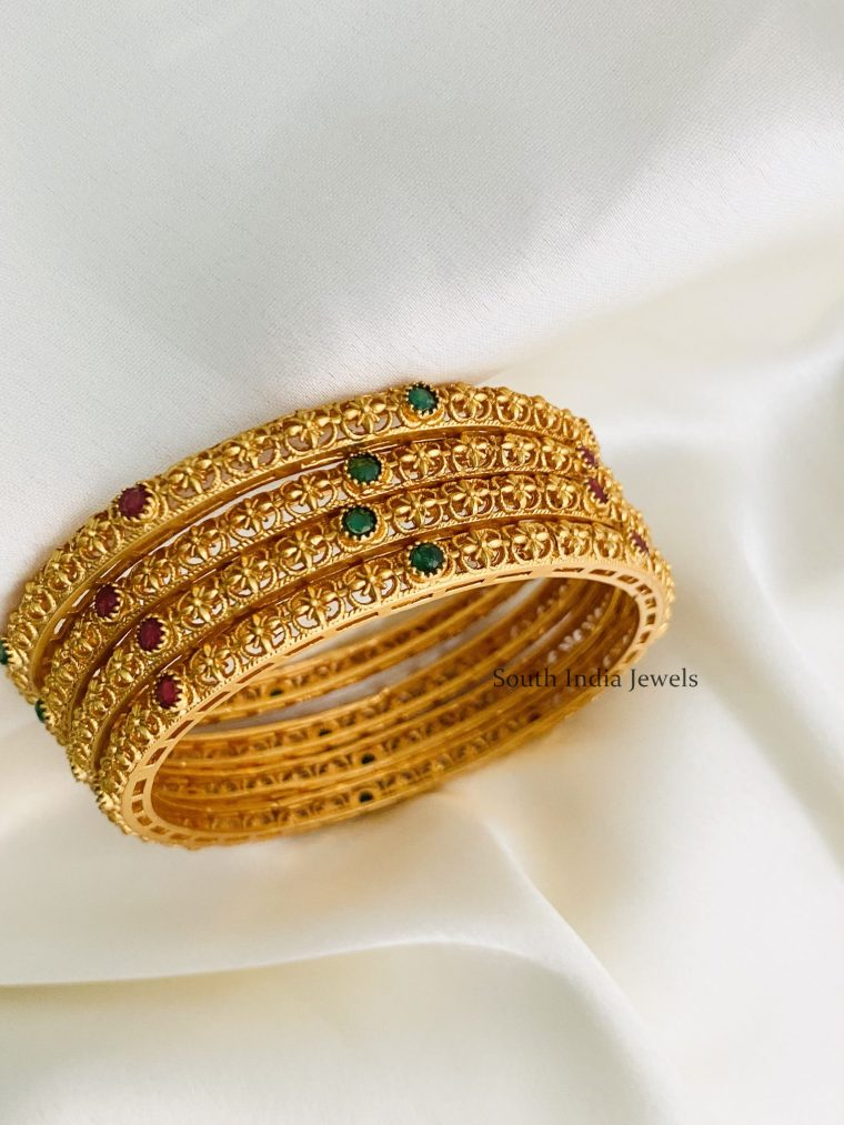 Gorgeous Golden Bangles