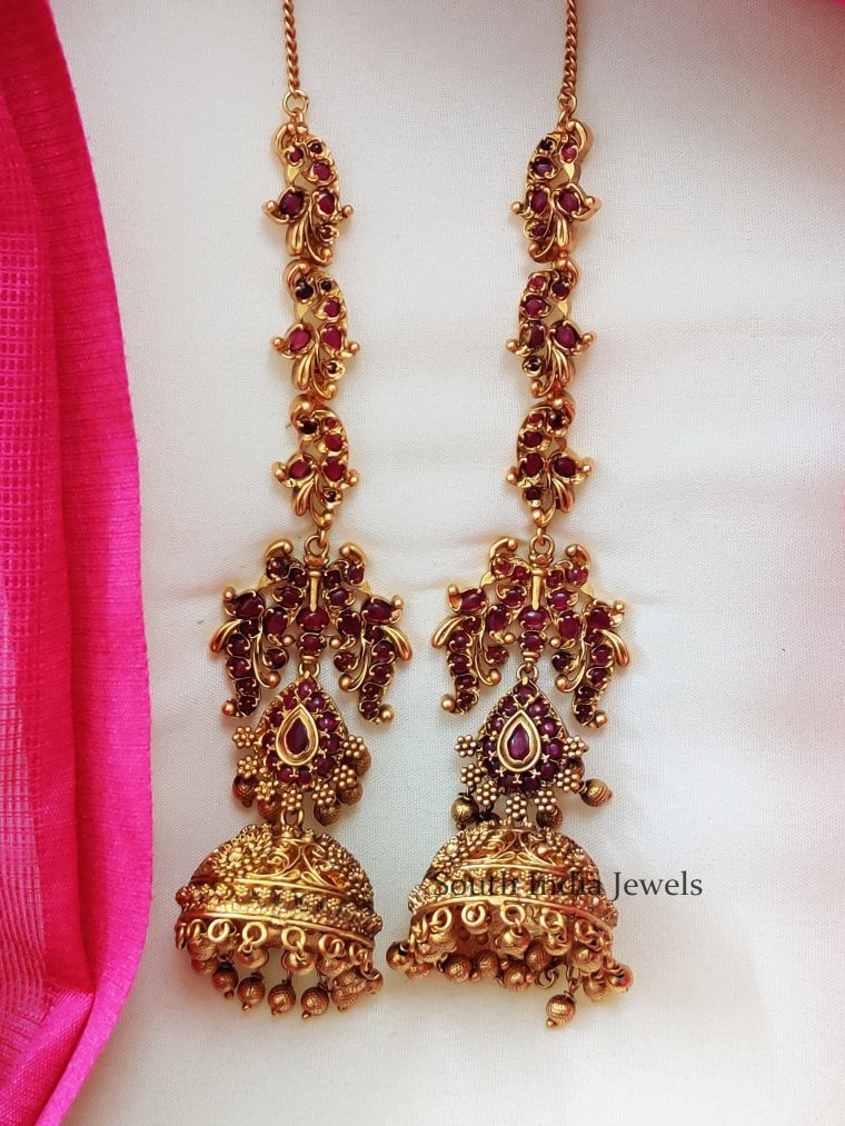 Gorgeous Kemp Stone Earrings