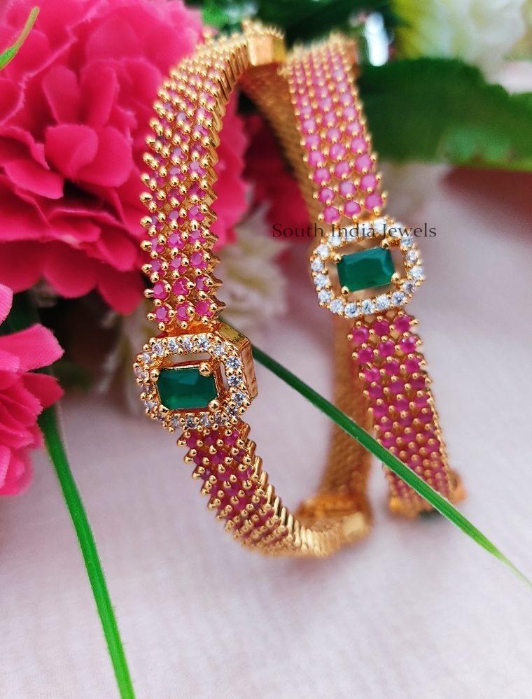 Gorgeous Multi Color Bangles (2)