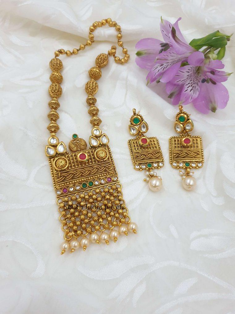 Gorgeous Multi Stone Antique Necklace