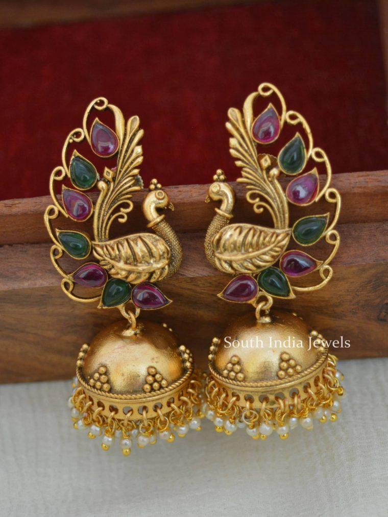 Kemp Peacock Design Jhumkas