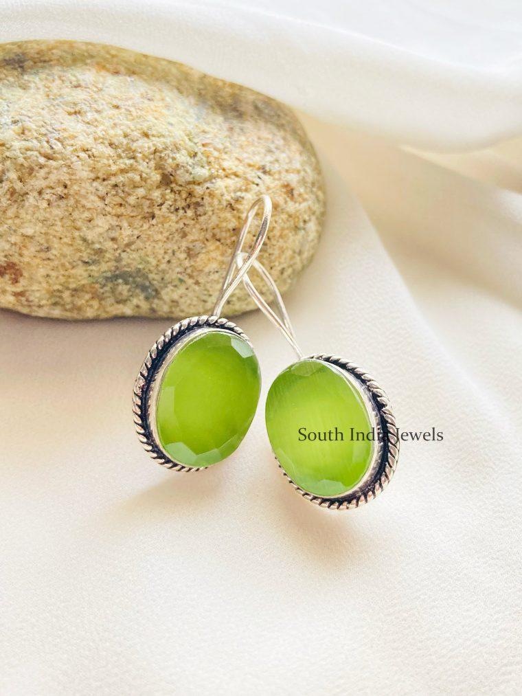 Luscious Lemon Green Earrings