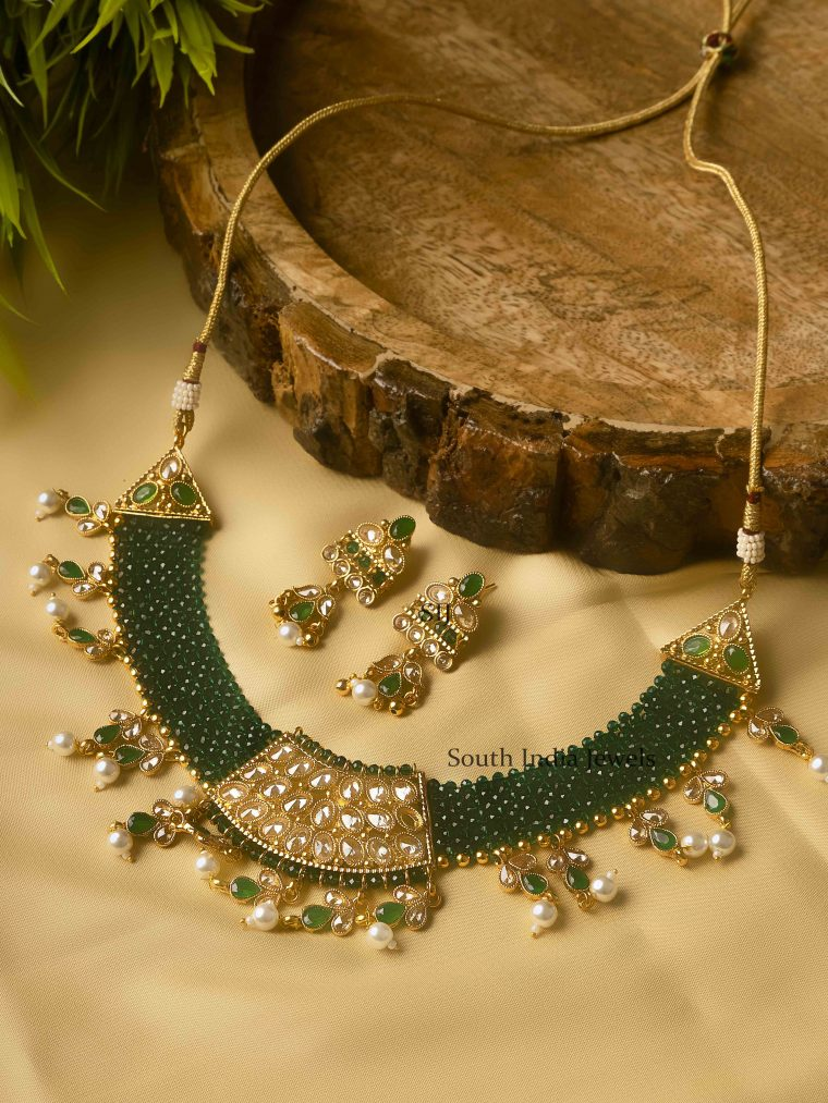 Premium Quality Green Pearl Necklace
