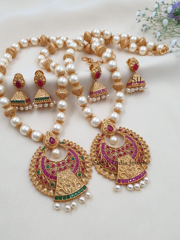 Pretty Designer Pearls Necklace