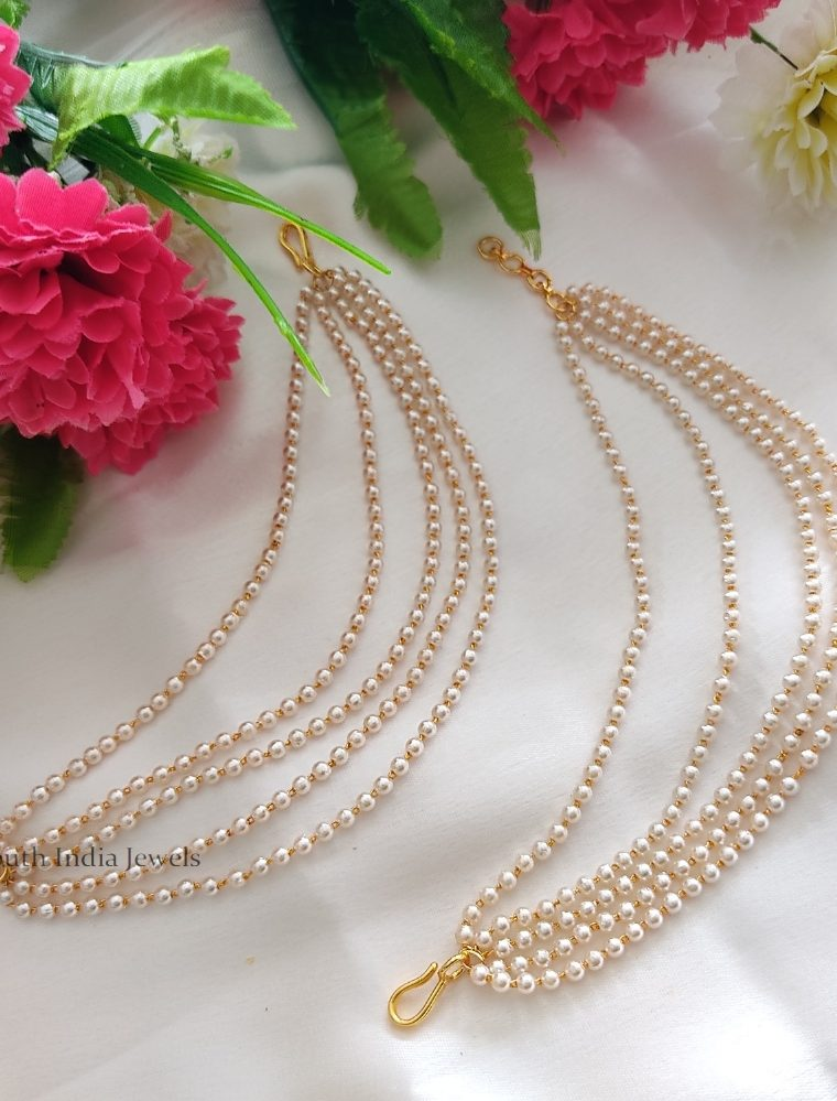 Rich Five Layered Pearls Maat