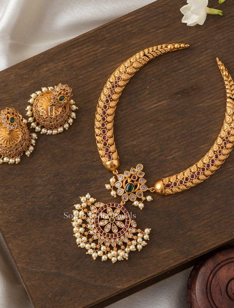 Rich Multicolor Pearls Necklace