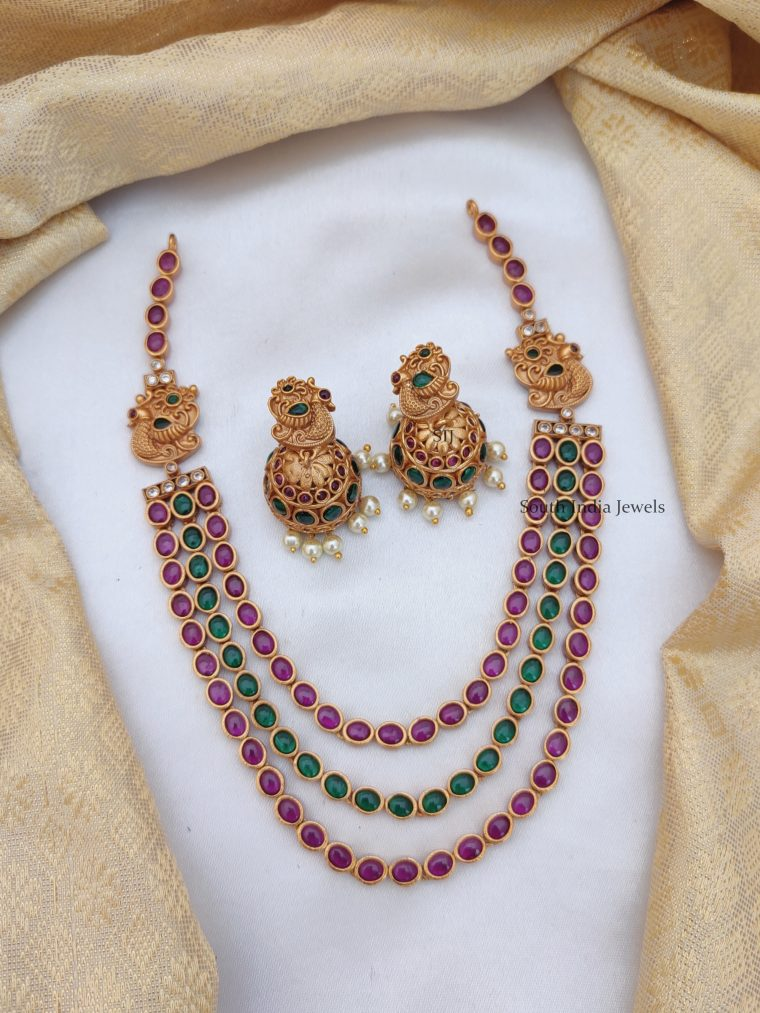 Royal Real Kemp Peacock Necklace