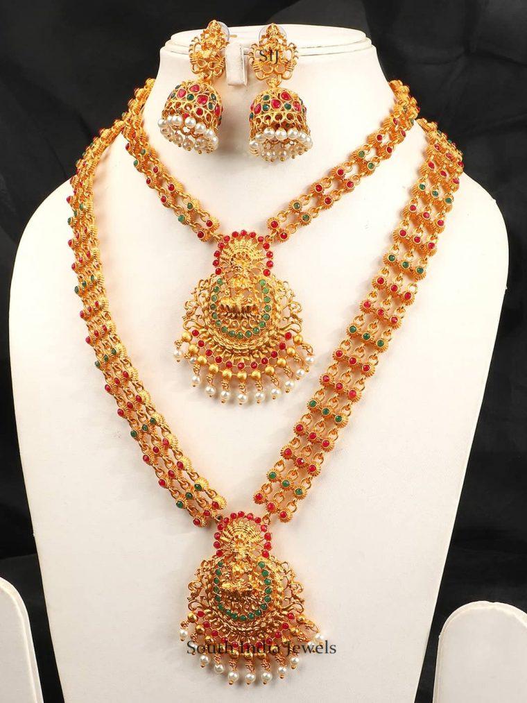 Royal Temple Jewellery Combo Set