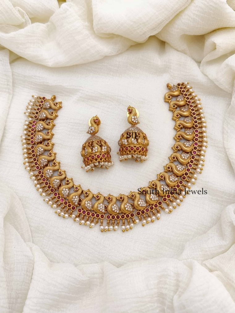 Simple AD & Kemp Swan Design Necklace