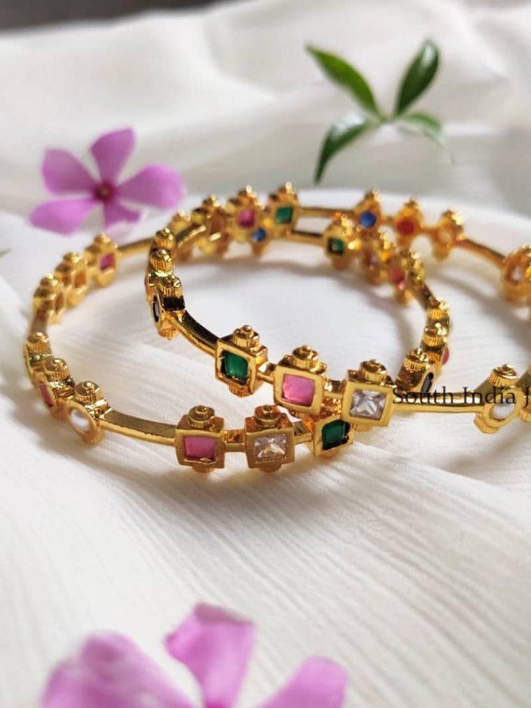 Simple & Elegant Navarathna Stones
