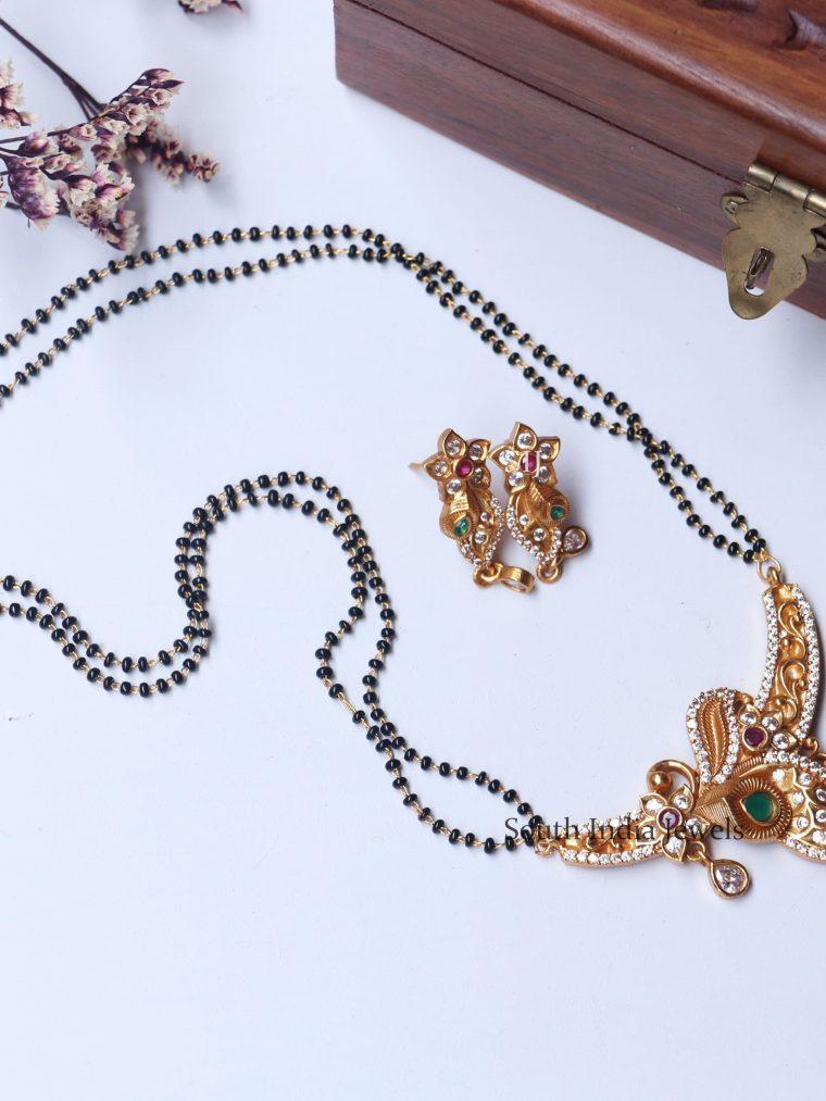 Traditional Lakshmi Coin Design Mangalsutra